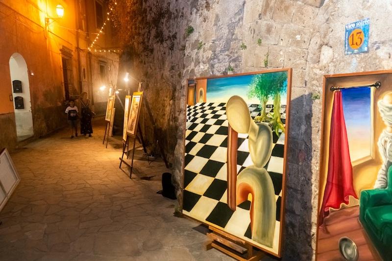 Vico Equense: le Soirée di Agosto illuminano il centro storico