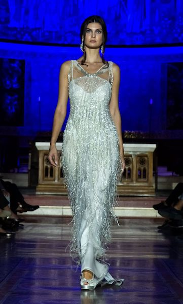 RomaFashion White 2019. L'Haute Couture sfila in Chiesa