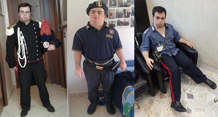 Festa della Castagna di Vallerano: la storia del ragazzo down che fa il Carabiniere e il programma di 12 e 13 ottobre