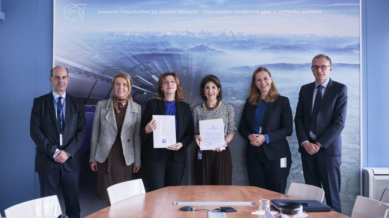 La Croatie devient État membre associé du CERN