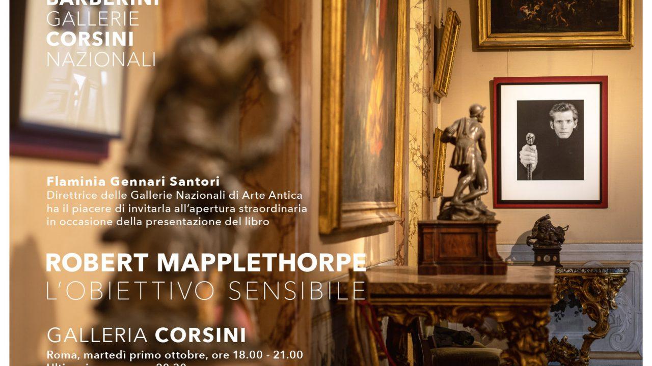"""Galleria Corsini, finissage della mostra """"Robert Mapplethorpe. L'obiettivo sensibile"""": apertura straordinaria e gratuita, visite guidate, presentazione catalogo"""