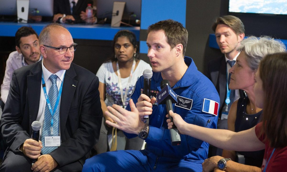 Talking Space with the Next Generation in Europe