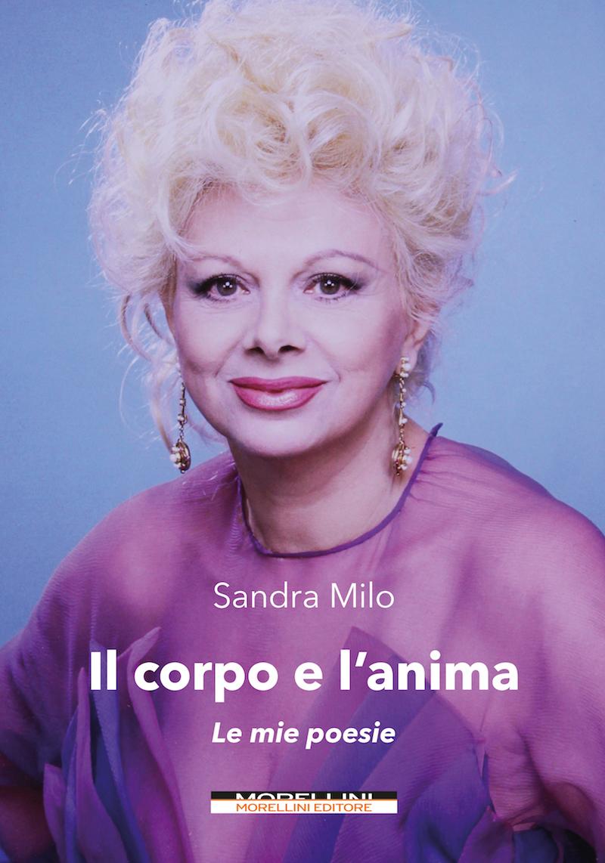 Libri: Sandra Milo presenta la raccolta delle sue poesie il 5 Ottobre a Vico Equense, il 6 a Nocera e il 7 a Napoli