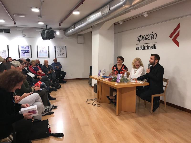 Successo di pubblico per le poesie di Sandra Milo presentate in Campania