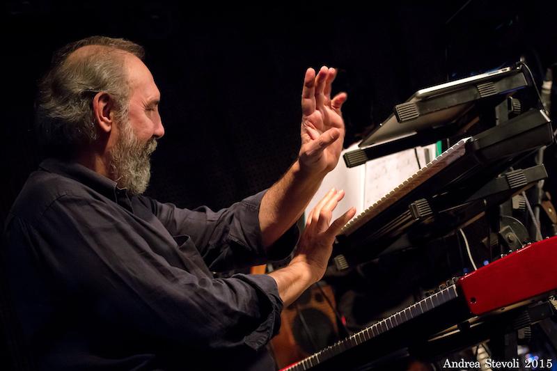 Musica a Roma: due giorni con Patrizio Fariselli, lo storico tastierista degli AREA.