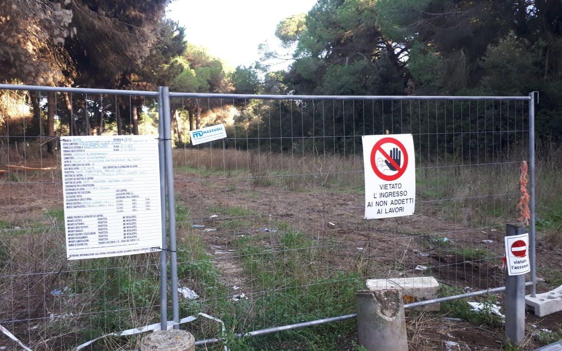 Sinistra Italiana X Municipio: Abbattimenti nella Pineta di Procoio parte seconda. Ora l'area è transennata ma nessuno ha ancora dato risposte ai cittadini.