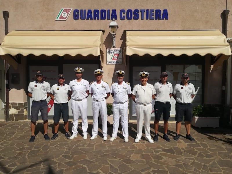 Il Comandante Generale del Corpo delle Capitanerie di porto in visita all'Ufficio Locale Marittimo di Santa Marinella.