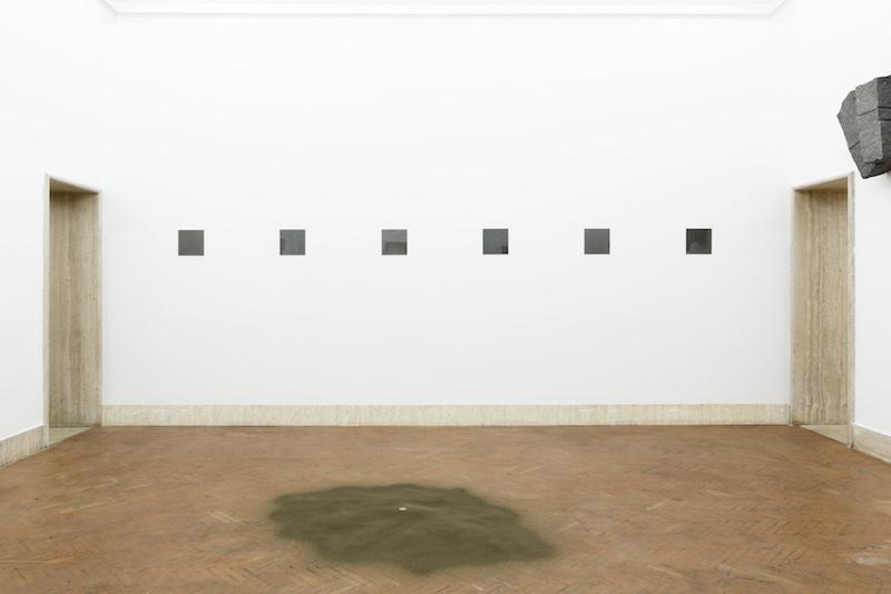 """Mostra: """"Giovanni Anselmo. Entrare nell'opera"""" a Roma all' Accademia Nazionale di San Luca"""