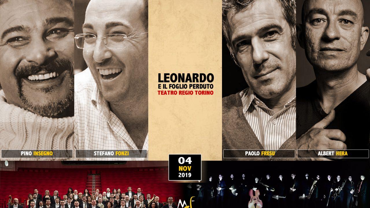 """Moncalieri Jazz Festival 2019: """"Leonardo e il foglio perduto"""", anteprima mondiale a Torino presso il Teatro Regio"""