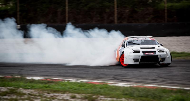 E' show con il drifting a Adria Motor Week