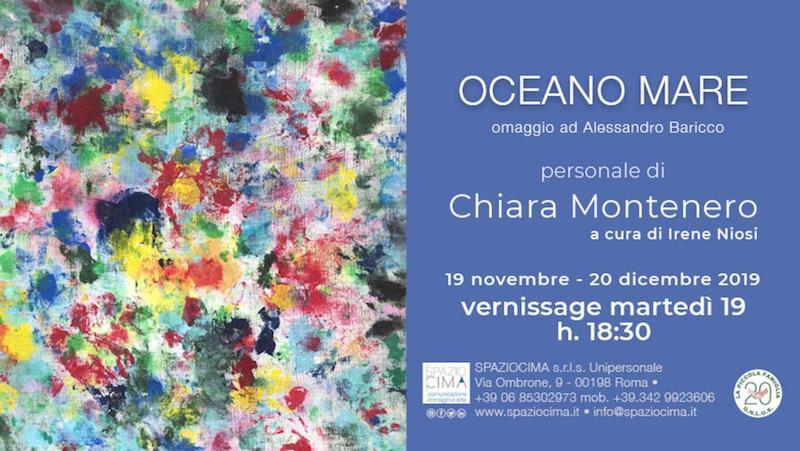 """SpazioCima – Apre domani la mostra di Chiara Montenero """"Oceano mare"""", omaggio al capolavoro di Alessandro Baricco"""