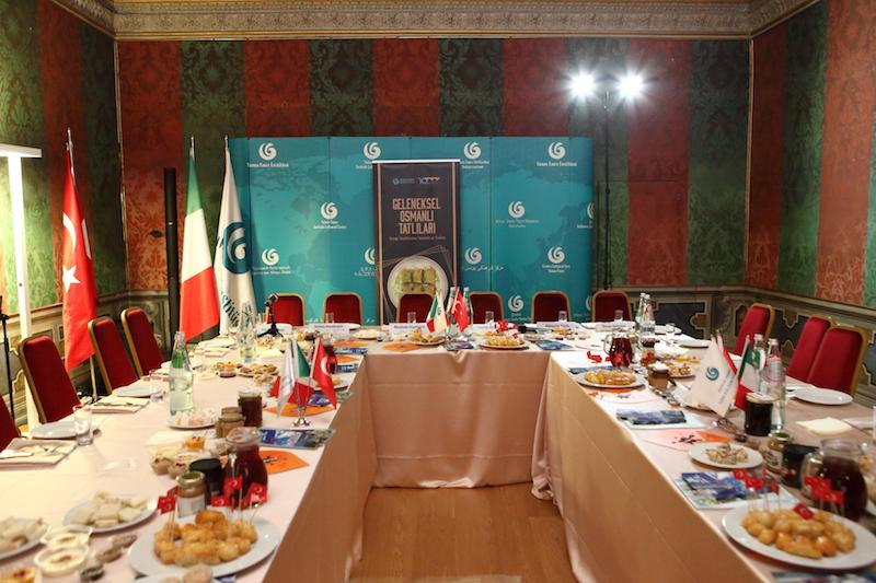 """I """"Dolci Tradizionali Ottomani"""" protagonisti di un evento culturale a Roma"""