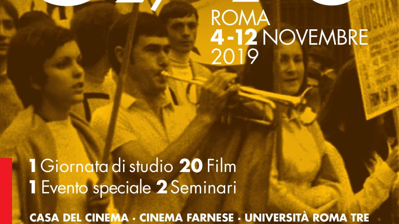 """""""Le lotte e l 'utopia: 1969/70"""": il programma della rassegna alla Casa del Cinema dal 5 al 7 novembre"""