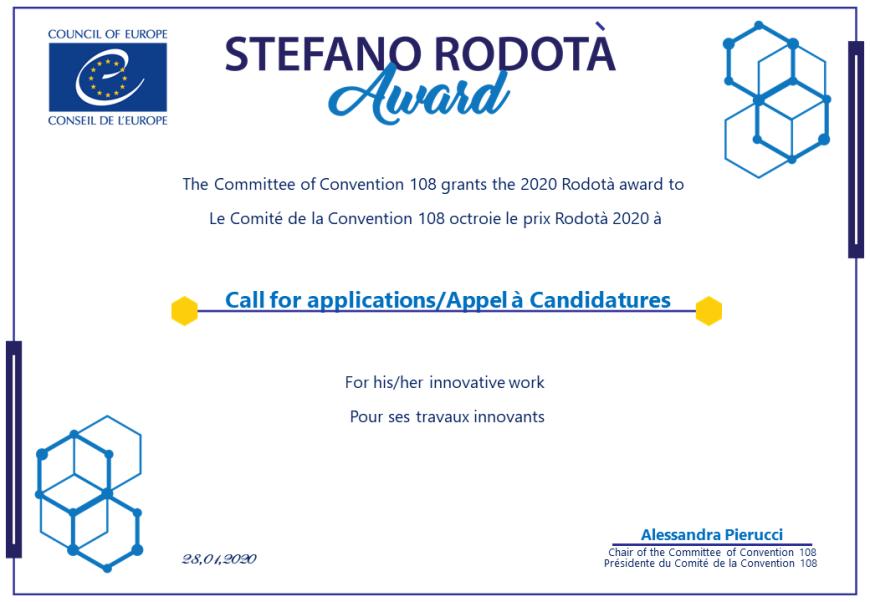 Seconda edizione del premio alla memoria di Stefano Rodotà