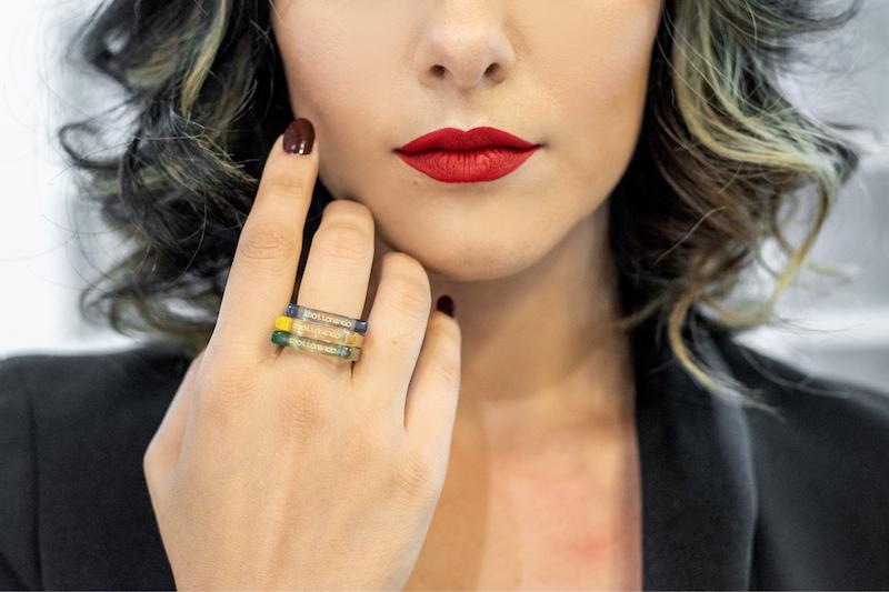 TRIuSo: gli anelli glamour che fanno bene all'ambiente