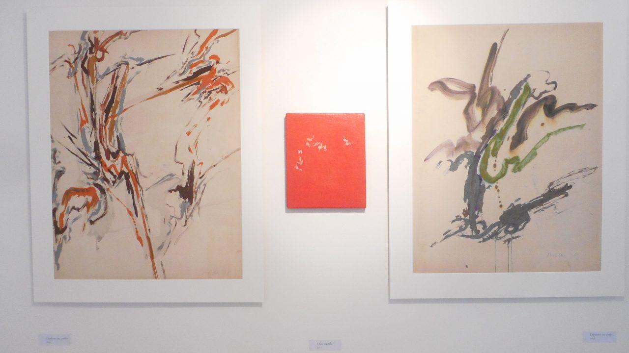 """Galleria """"Arte e Pensieri"""": in mostra fino al 16 novembre """"Luigi Boille. Lavori giovanili (inediti) & ultimi segni (assoluti)"""""""