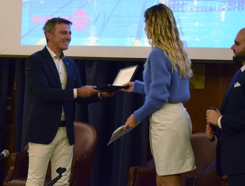 Al Circolo Canottieri Aniene si premiano le eccellenze italiane da Cristina Bowerman a Daniele Bigliardo il premio istituito dal Rotaract Roma Polis giunge alla terza edizione