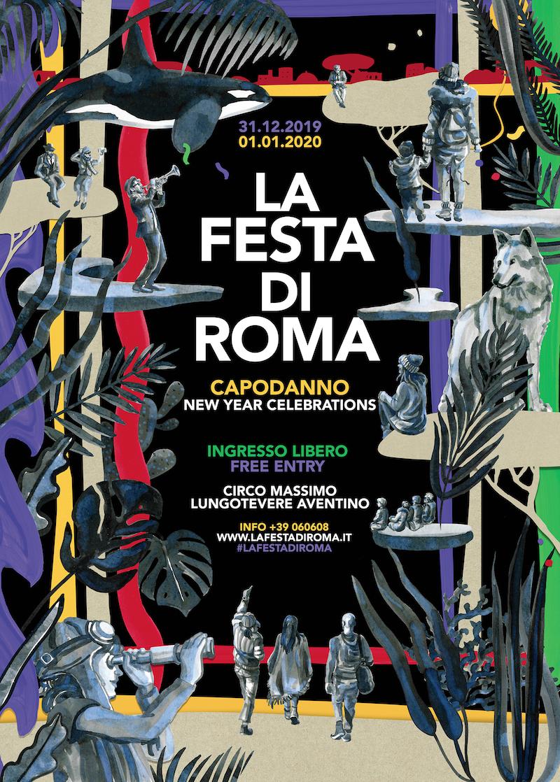 Campidoglio: Capodanno, 1000 artisti per 24 ore della Festa di Roma 2020