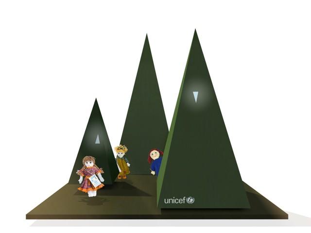 """Prestigioso connubio fra Sergio Valente e UNICEF Italia per il""""Il Natale dei cento alberi d'autore"""" 2019"""