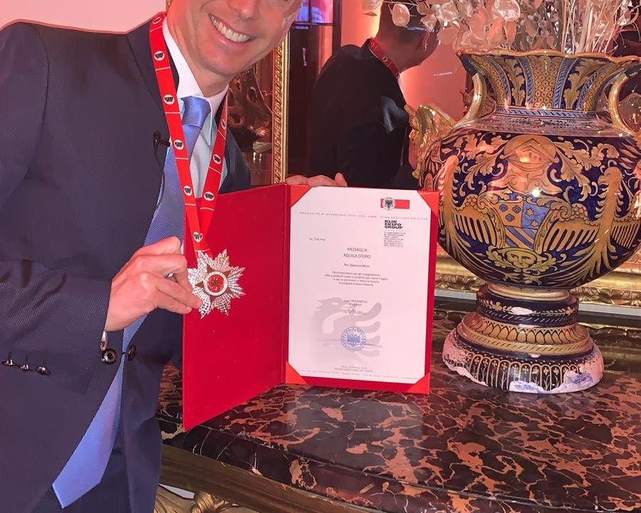Gianluca Mech conquista la Medaglia Aquila d'Oro in Albania