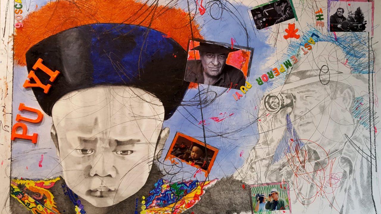 """Omaggio """"artistico"""" a Bertolucci a un anno dalla sua morte: torna in via Margutta la sedia elettrica del 1993 contro la pena di morte"""