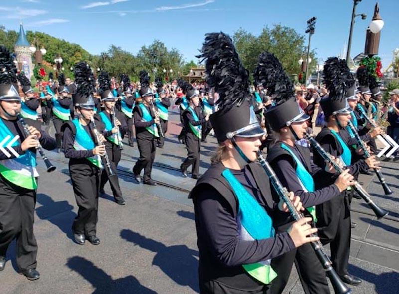 Il Festival di Frascati con una parata musicale delle più significative high school band americane