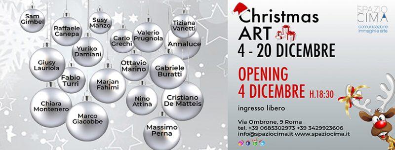 """SpazioCima: """"Christmas Art"""" dal 4 al 20 Dicembre"""
