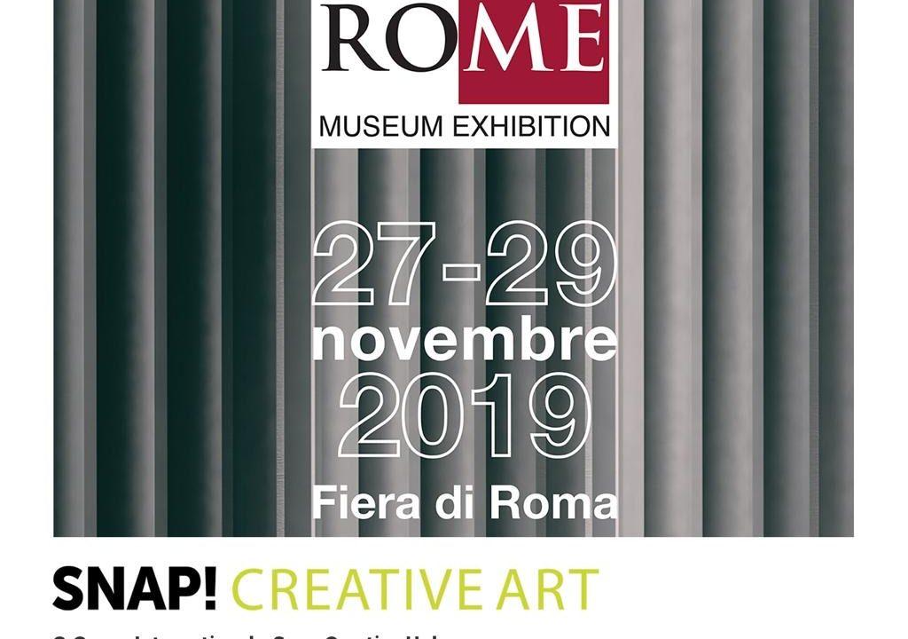 Nasce Snap! Creative Art, la presentazione al Rome Museum Exhibition