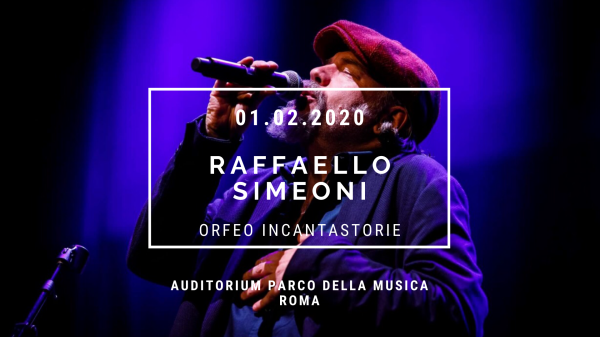Errare Humanum Est: RaffaelloSimeoni in concerto all'Auditorium Parco della Musica