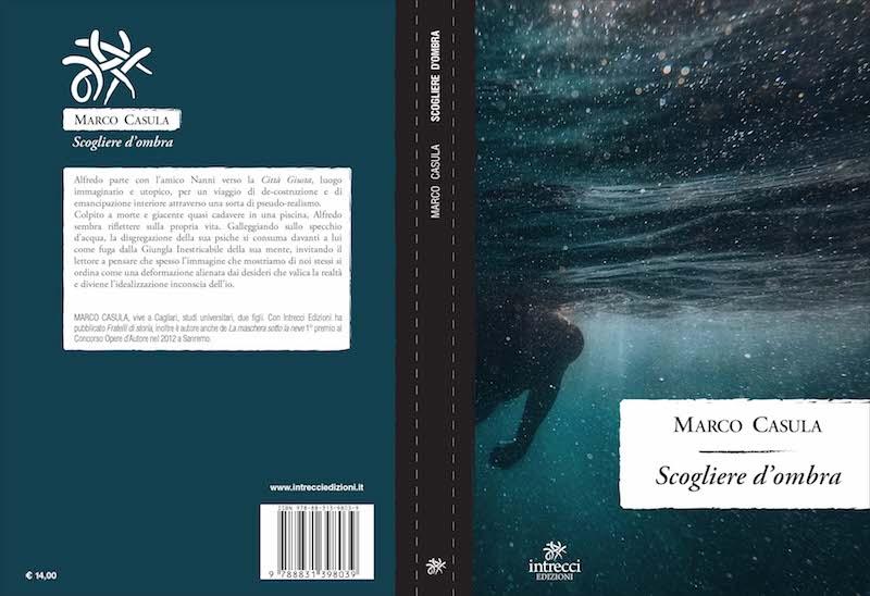 Scogliere d'ombra: dal 27 gennaio il nuovo romanzo di Marco Casula