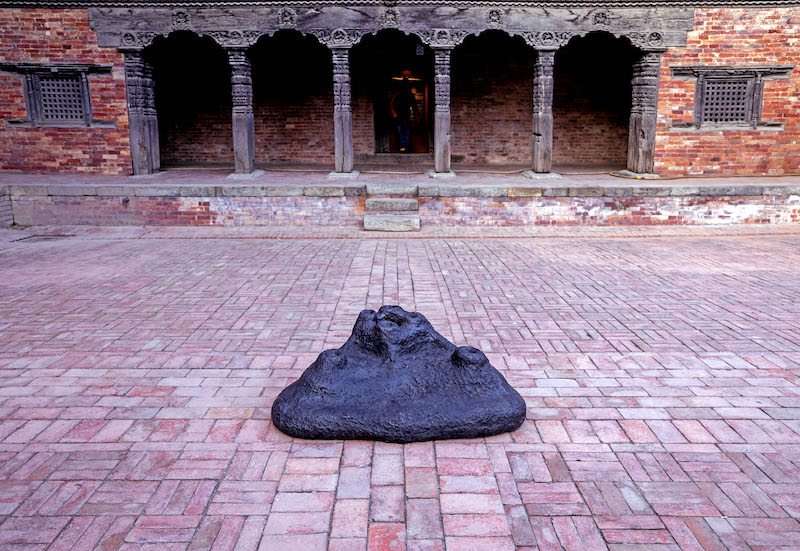 Museo di Patan, Kathmandu in Nepal: inaugurazione mostra di Namsal Siedlecki