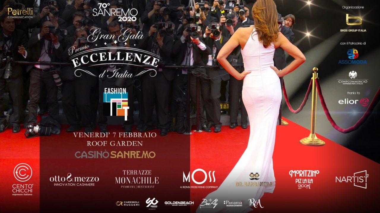 """Sanremo 2020, al Casinò torna il """"Premio Eccellenze d'Italia"""""""