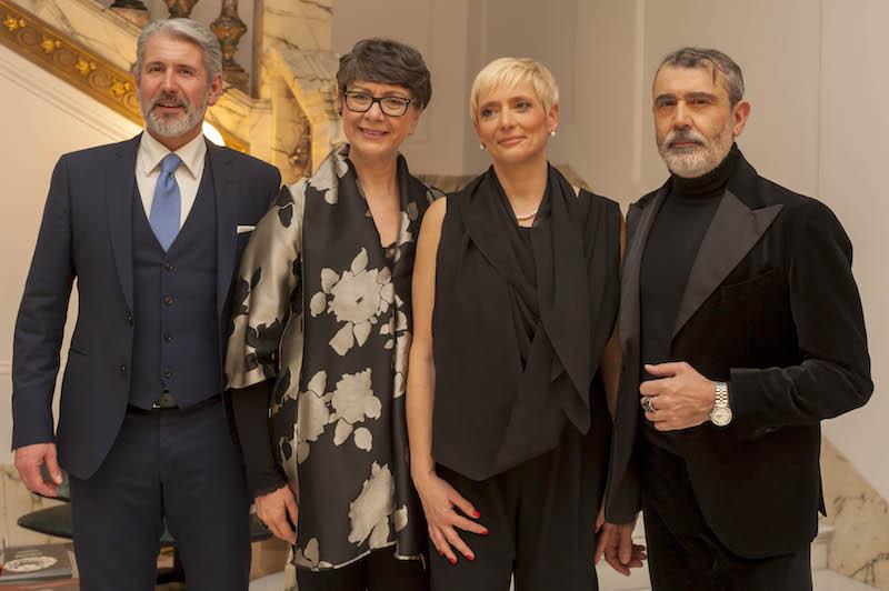 Michele Miglionico: Alta Moda Show alla Banca Generali della sede di Roma