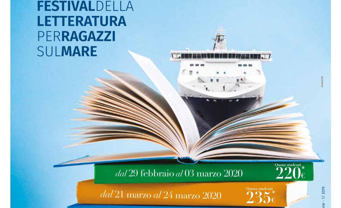 aMare Leggere: l'VIII edizione della nave scolastica letteraria raddoppia le partenze il 29 febbraio e il  21 marzo