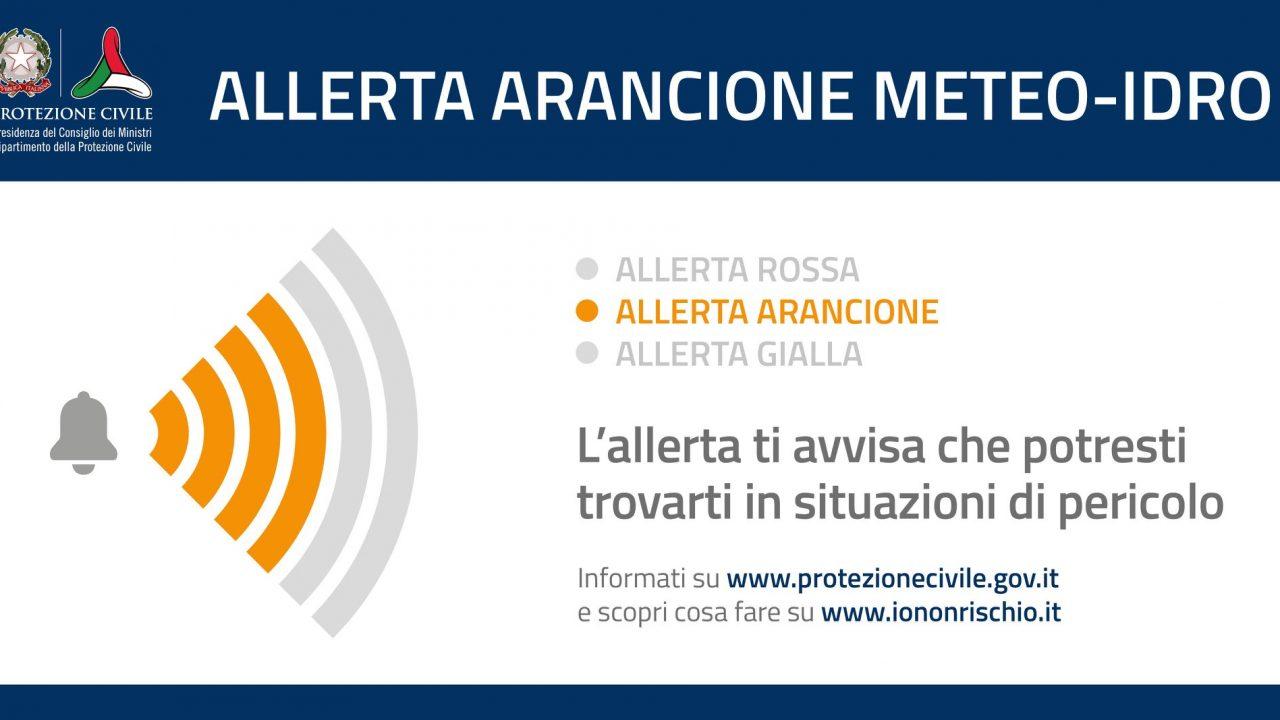 Maltempo: allerta arancione in Veneto