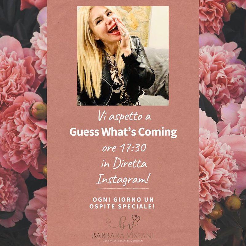 Guess Who's Coming: nasce il nuovo sociale format di Barbara Vissani