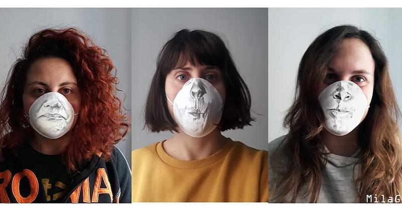 #lifeviralart: quando l'arte unisce l'Italia, sostiene gli ospedali e trasforma la mascherina in un oggetto artistico