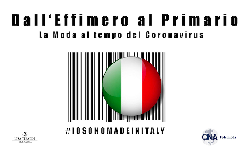 """Lisa Tibaldi Terra Mia, la start-up sudpontina ha aderito all'iniziativa: """"La Filiera Moda per l'Italia – Emergenza Covid 19"""""""
