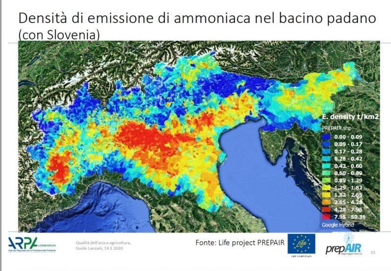 Greenpeace: riscaldamento e allevamenti intensivi, in Pianura Padana causa del 54% delle polveri fini