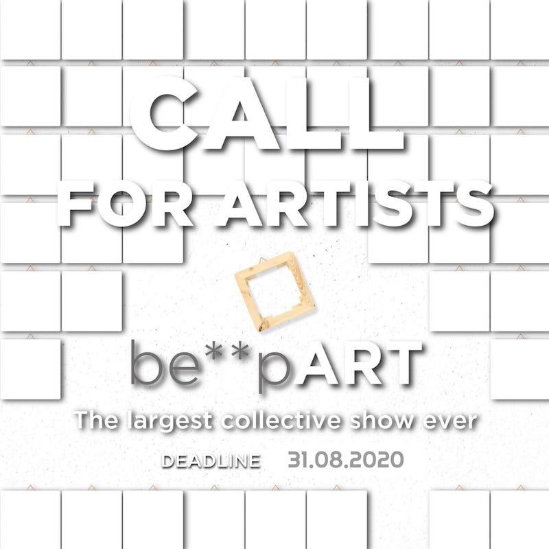 """Atelier Montez: prosegue con successo il progetto """"Be**pArt"""", la collettiva d'arte più grande al mondo."""