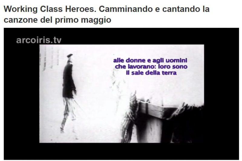 Working Class Heroes: il documentario di Giandomenico Curi per il primo maggio in visione per tutti