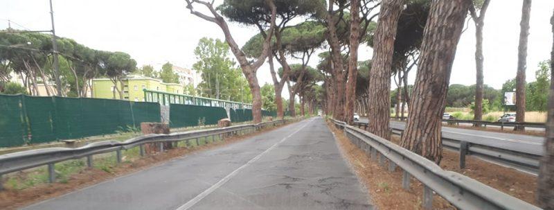 Sinistra Italiana X Municipio: Via Ostiense strada ad altissimo rischio incidente. E' urgente un intervento per la messa in sicurezza della carreggiata.
