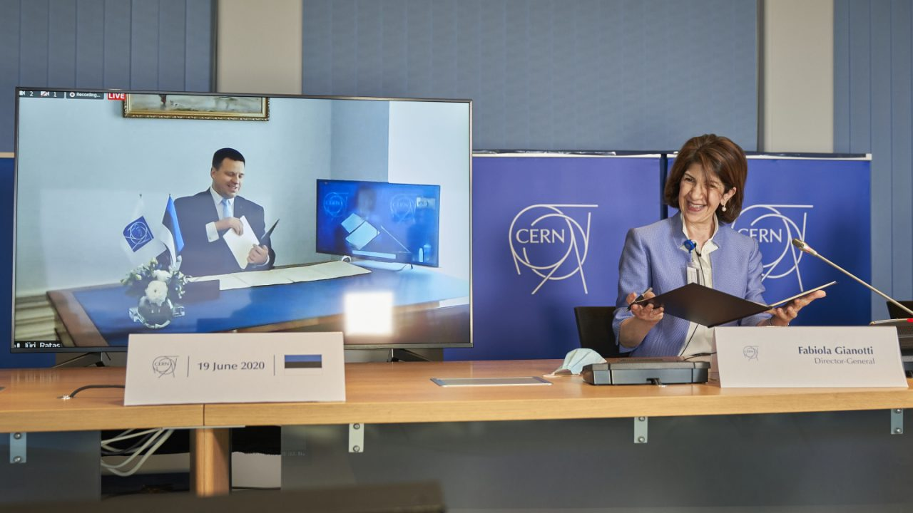 Estonia to become Associate Member in the Pre-Stage to Membership of CERN