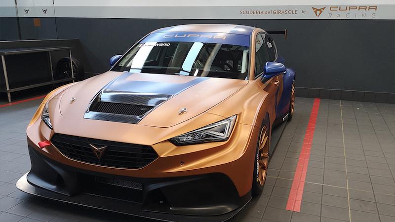 Due nuove CUPRA Leon Competición in anteprima mondiale con la Scuderia del Girasole