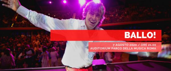 BALLO! Ambrogio Sparagna & Orchestra Popolare Italiana il 7 Agosto all' Auditorium Parco della Musica