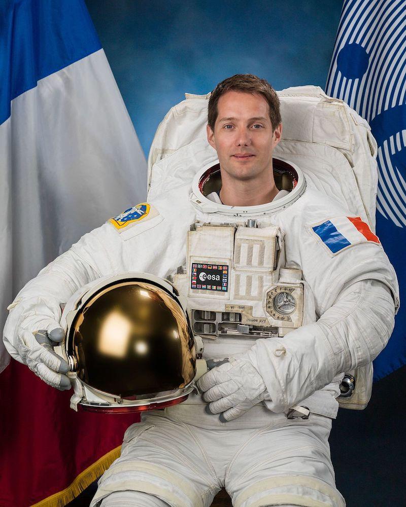 L'astronauta dell'ESA Thomas Pesquet sarà il primo europeo a raggiungere la Stazione Spaziale con la capsula Dragon