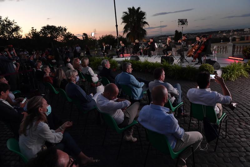 """Orchestra Italiana del Cinema per """"Roma e l'acqua: una grande storia d'amore"""""""