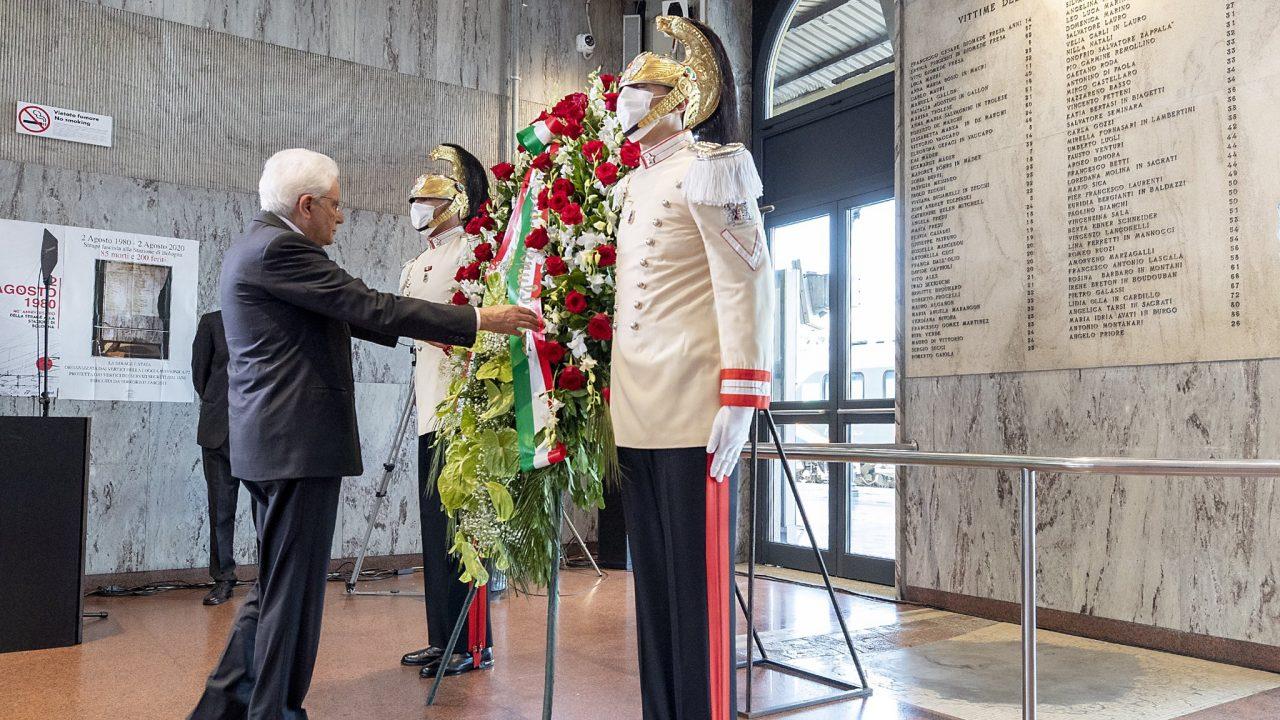 Dichiarazione del Presidente Mattarella nell'anniversario della strage di Bologna