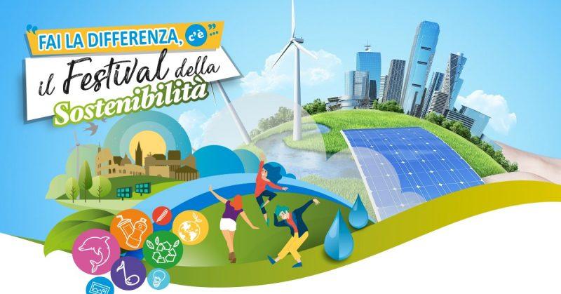 Fai la differenza, c'è… il Festival della Sostenibilità – Appuntamento dal 24 settembre al 29 ottobre a Roma in tre differenti location,tra cultura, arte, gastronomia e divertimento