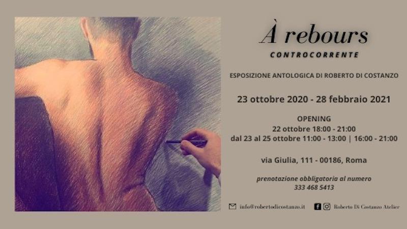 À Rebours – Controcorrente, Viaggio Antologico nel Disegno di Roberto Di Costanzo